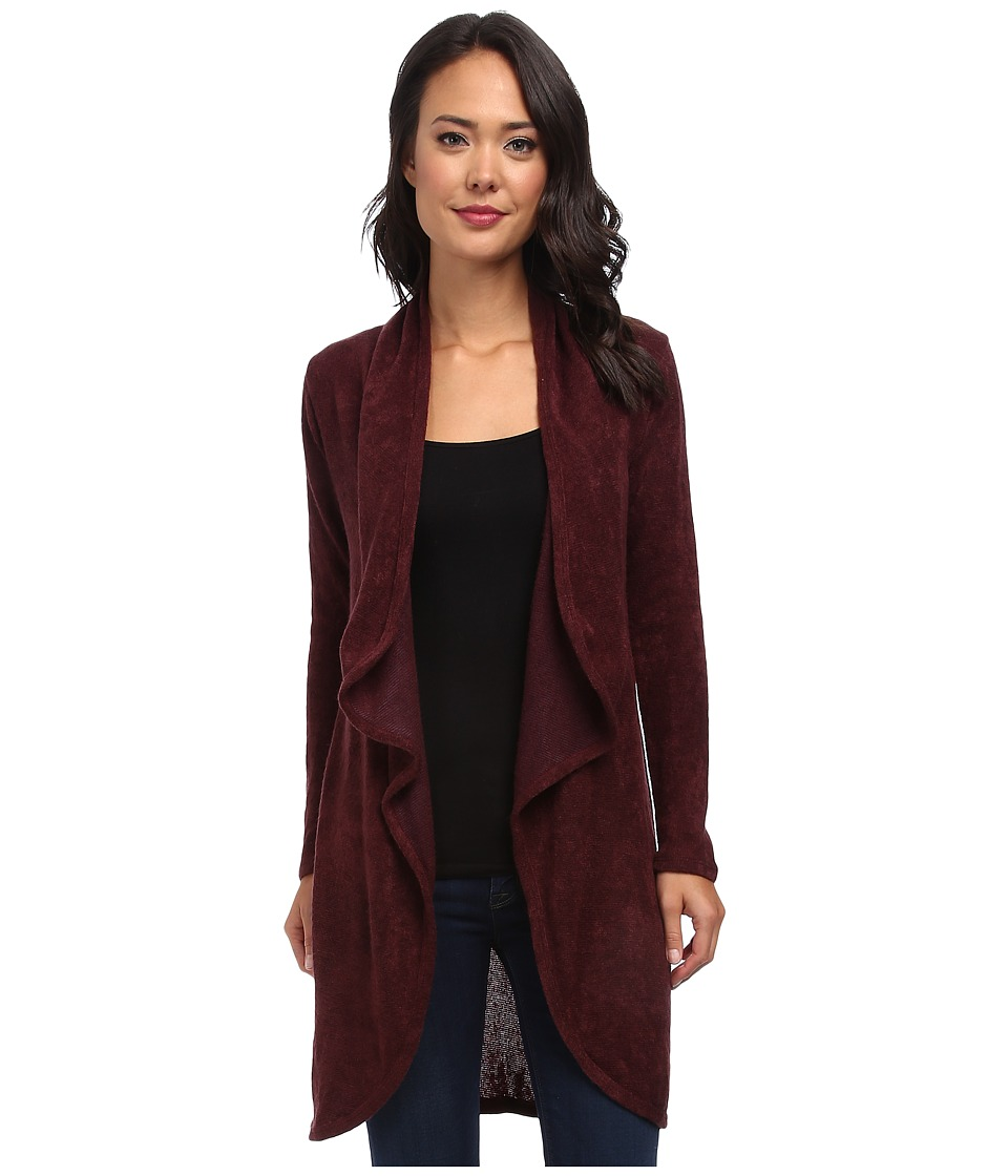 Gabriella Rocha - Esme Long Sleeve Cardigan (Wine) Women's Sweater