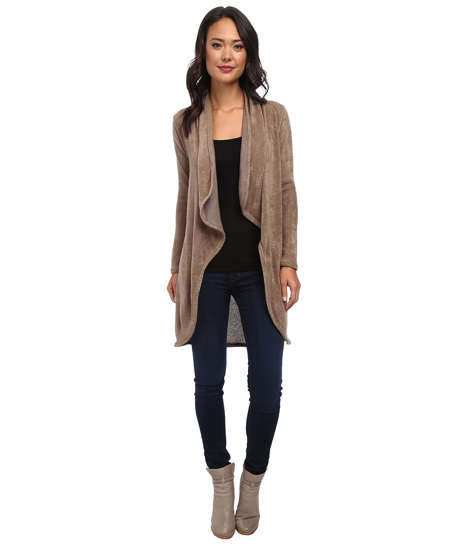 Gabriella Rocha - Esme Long Sleeve Cardigan (Mocha) Women's Sweater