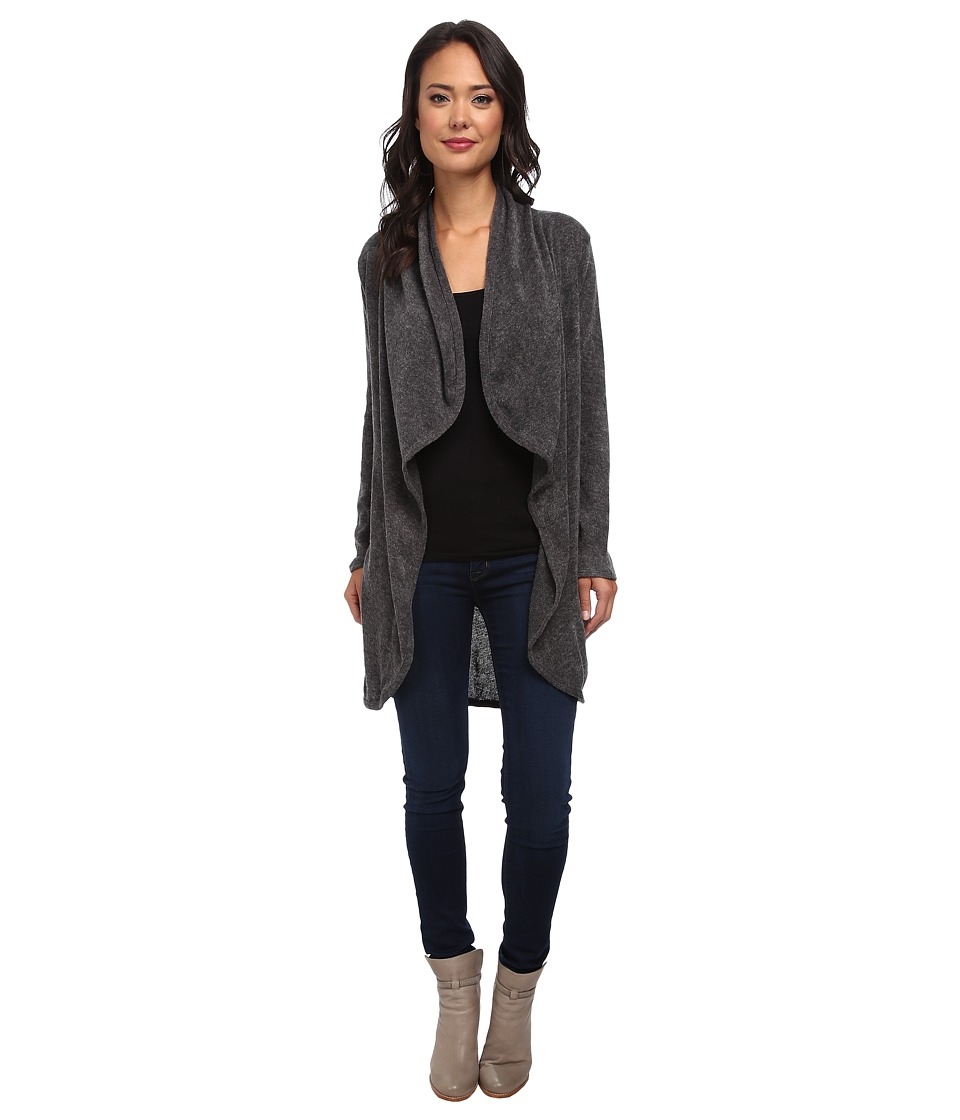 Gabriella Rocha - Esme Long Sleeve Cardigan (Charcoal) Women