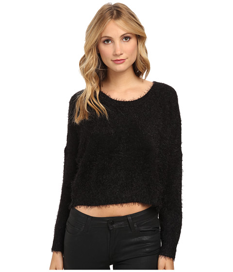 Gabriella Rocha - Kiki Fuzzy Sweater (Black) Women