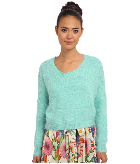 Gabriella Rocha - Kiki Fuzzy Sweater (Mint) Women