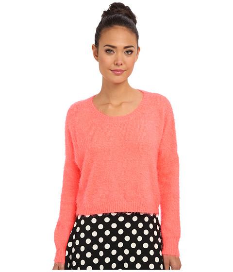 Gabriella Rocha - Kiki Fuzzy Sweater (Coral) Women's Sweater