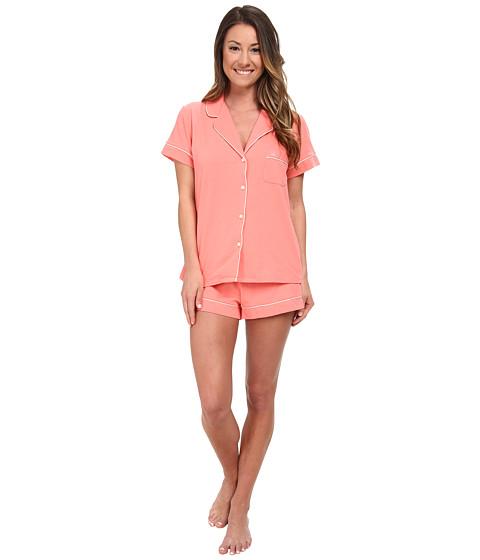 Calvin Klein Underwear - Dynamic Jersey S/S + Jersey Short (Starburst) Women's Pajama Sets