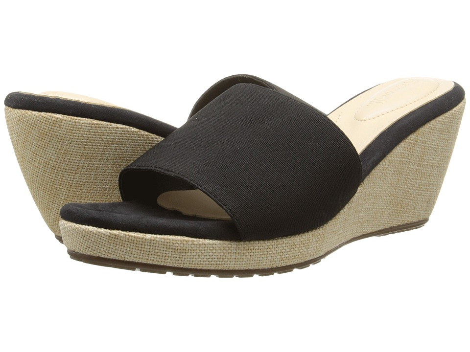 Fitzwell - Rainbow (Black) Women's Sandals
