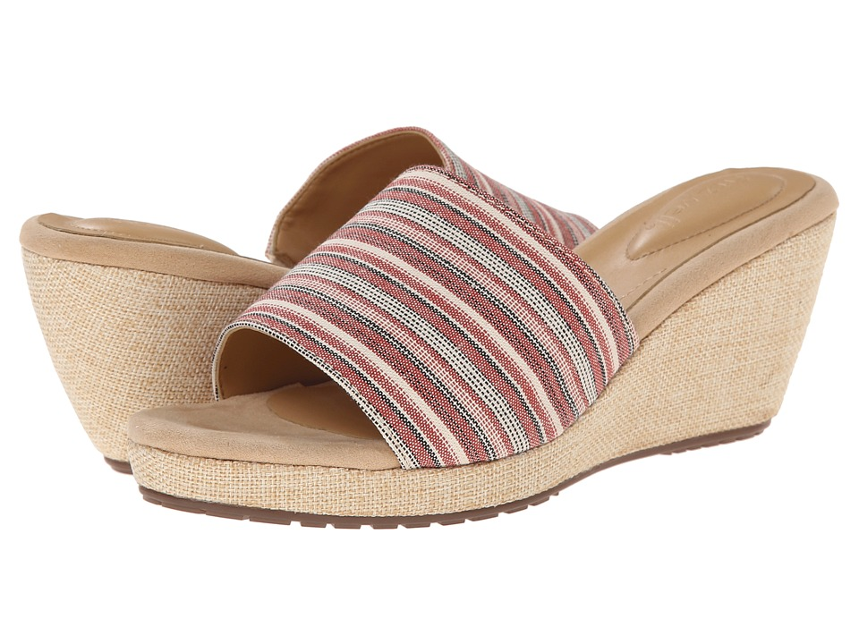 Fitzwell - Rainbow (Red Multi) Women's Sandals