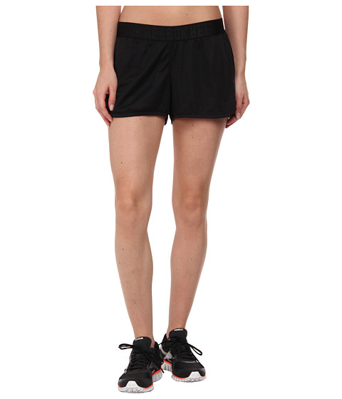 Reebok - Workout Ready Mesh Short (Black) Women