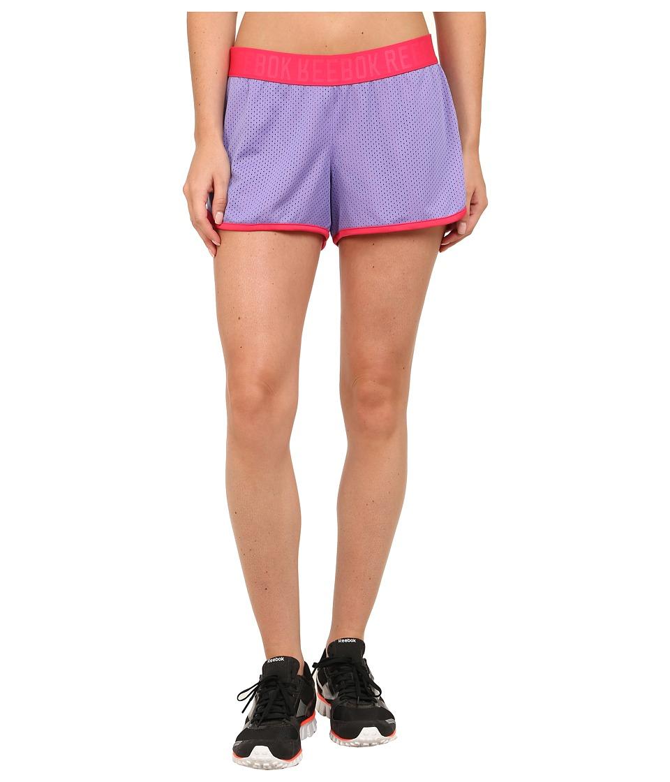 Reebok - Workout Ready Mesh Short (Lush Orchid) Women's Shorts