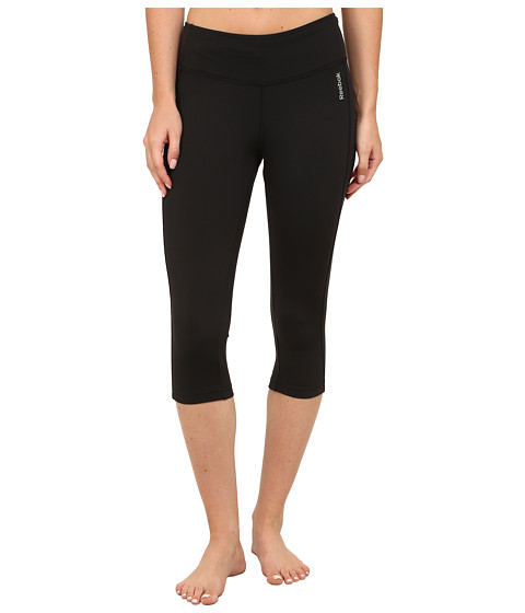 Reebok - Sport Essentials Capri (Black/Black) Women