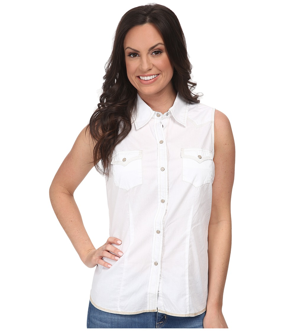 Roper - 9524C1 - Solid Poplin (White) Women