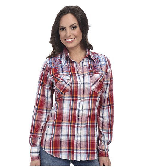 Roper - 9534 Jubilee Plaid (Red) Women