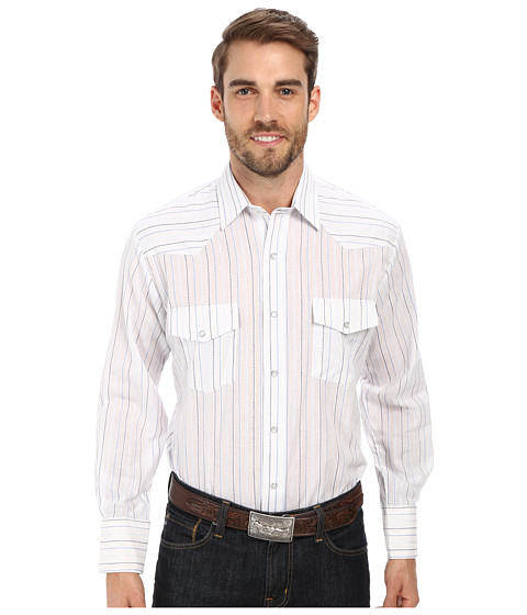 Roper - 9658 Multi Blue Stripe (Blue) Men