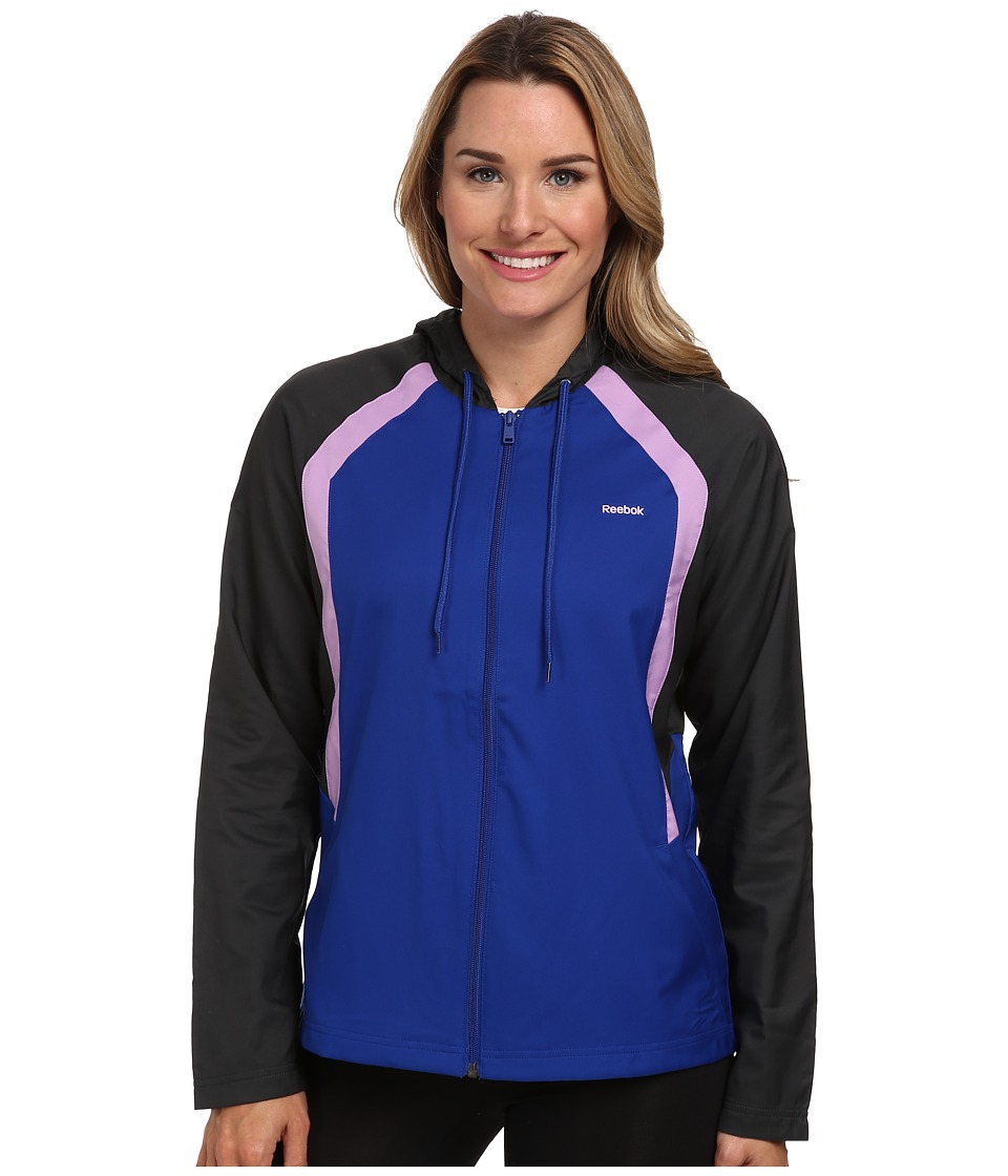 Reebok - Woven Jacket (Ultramarine) Women's Coat