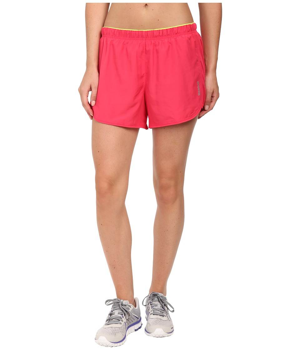 Reebok - Running Essentials 4-inch Short (Blazing Pink) Women's Shorts