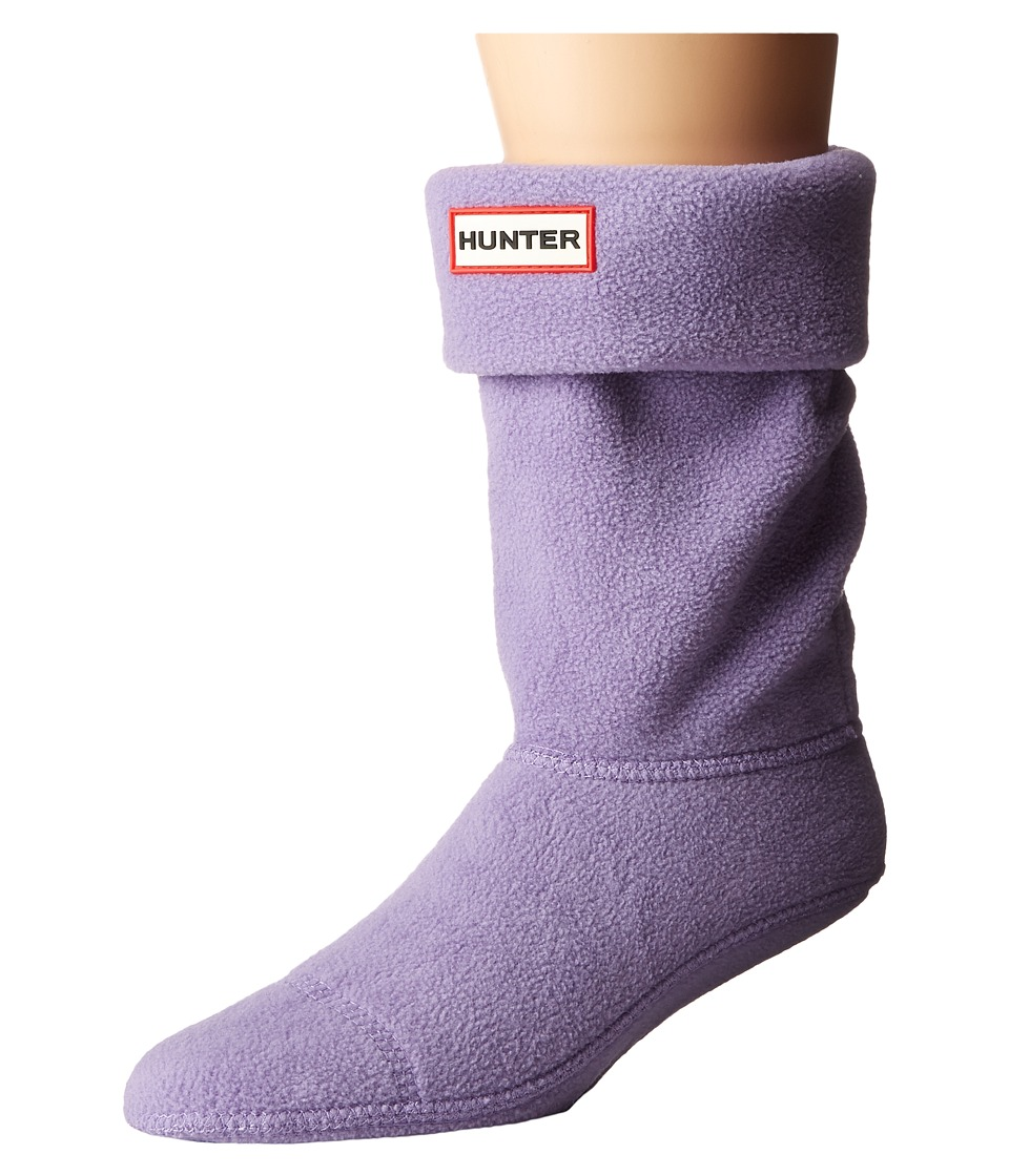 Hunter - Short Boot Socks (Dusty Lavender) Women's Crew Cut Socks Shoes