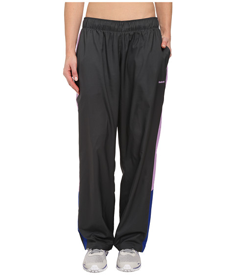 Reebok - Woven Pant (Gravel/Ultramarine) Women's Workout