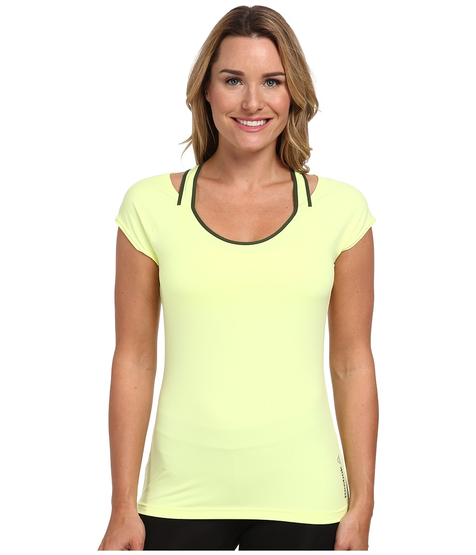 Reebok - One Series Print Tee (Lemon Zest) Women