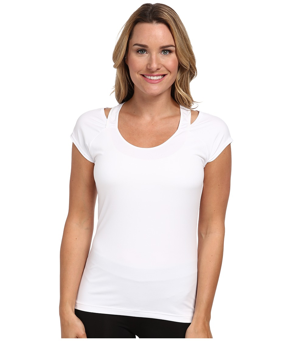 Reebok - One Series Print Tee (White) Women