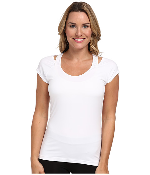 Reebok - One Series Print Tee (White) Women's T Shirt