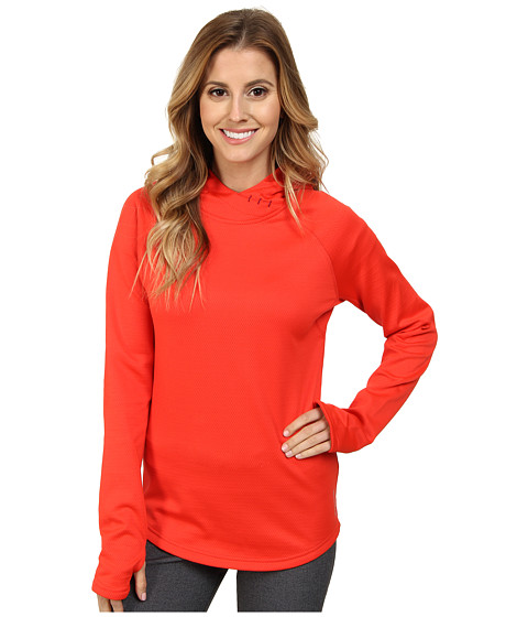 Reebok - Workout Ready Mid Hoodie (China Red) Women