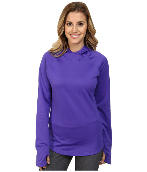 Reebok - Workout Ready Mid Hoodie (Ultimate Purple) Women's Sweatshirt