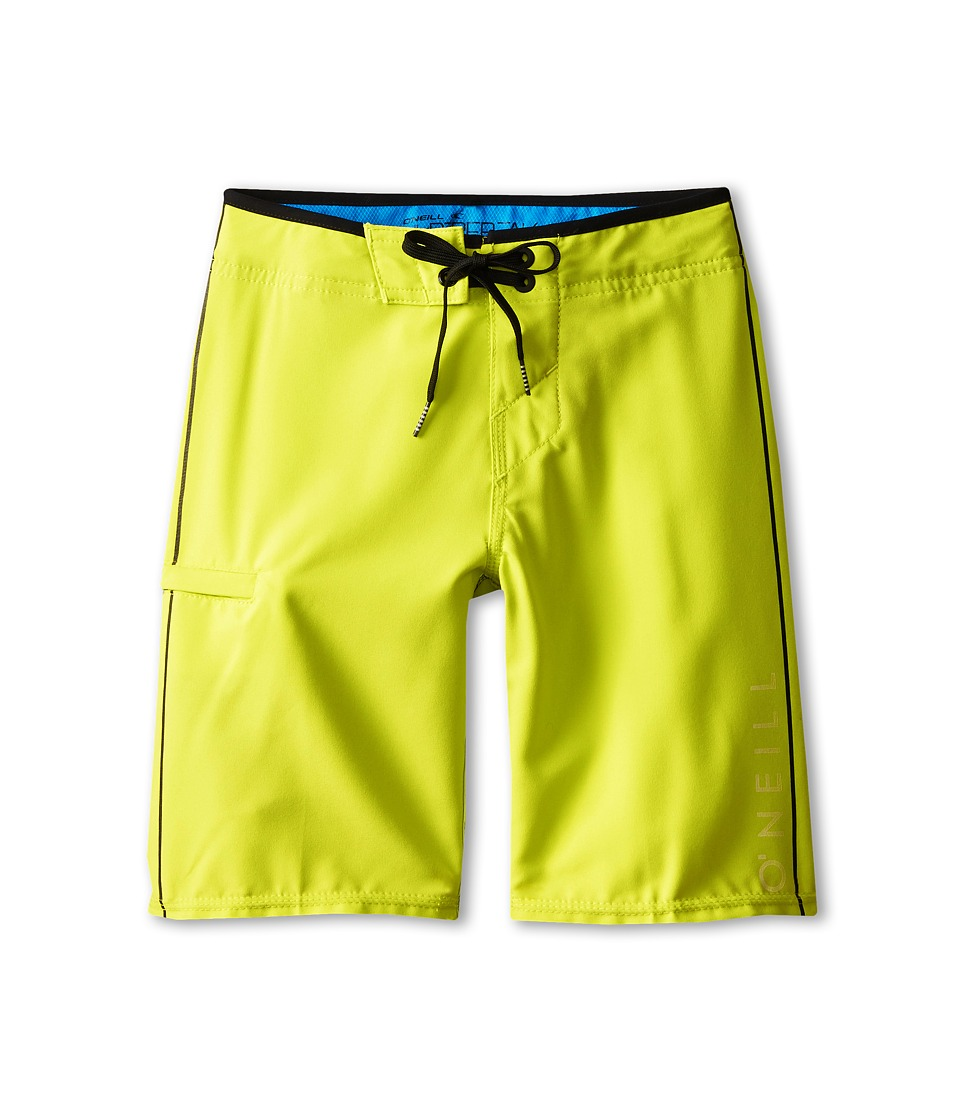 O'Neill Kids - Santa Cruz Stretch (Big Kids) (Lime) Boy's Swimwear