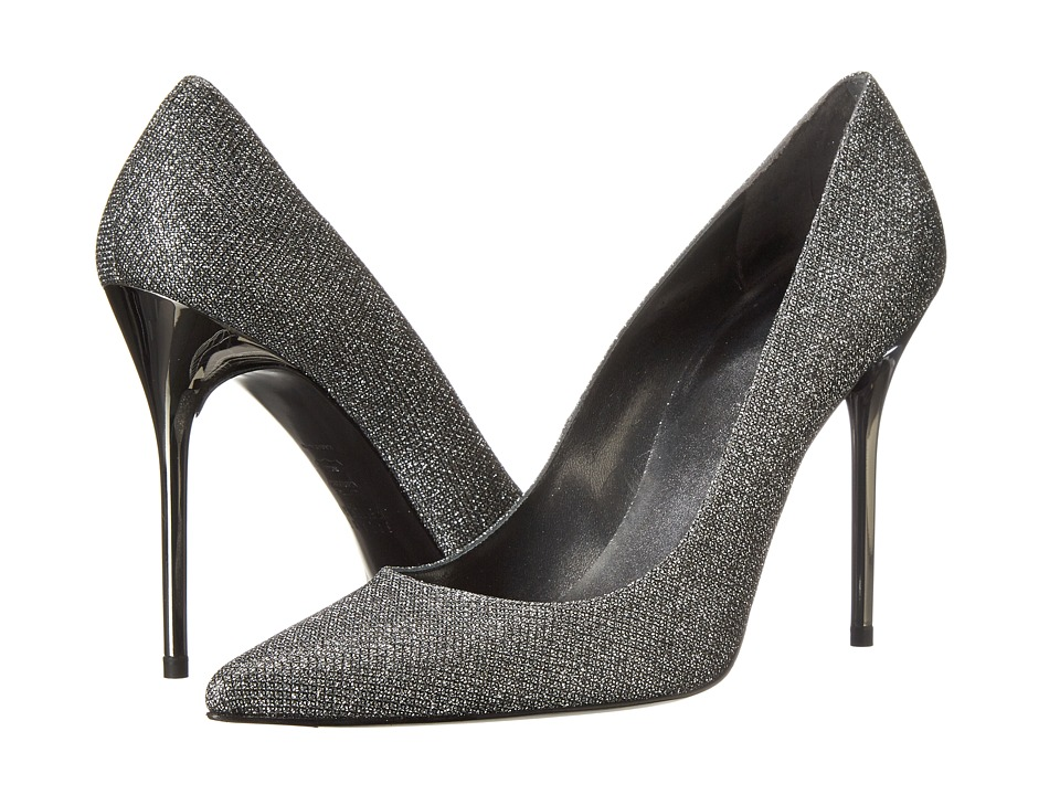 Stuart Weitzman Bridal & Evening Collection - Nouveau (Pewter Noir) High Heels