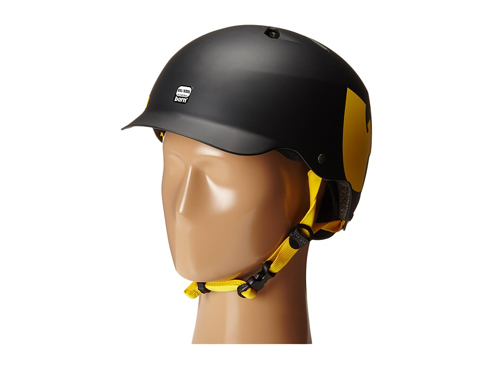 Bern - Watts Bike/Skate (Wutang Matte Black) Cycling Helmet
