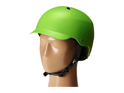 Bern - Watts Bike/Skate (Matte Neon Green) Cycling Helmet