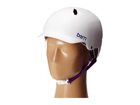 Bern - Bandita EPS (Satin White) Snow/Ski/Adventure Helmet