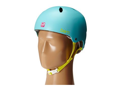 Bern - Diabla EPS (Satin Turquoise Green) Snow/Ski/Adventure Helmet