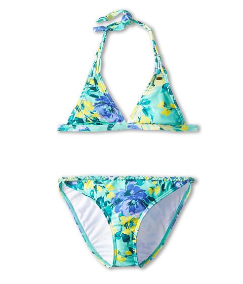 O'Neill Kids - In Bloom Braided Tri Bikini (Big Kids) (Seafoam) Girl's Swimwear Sets