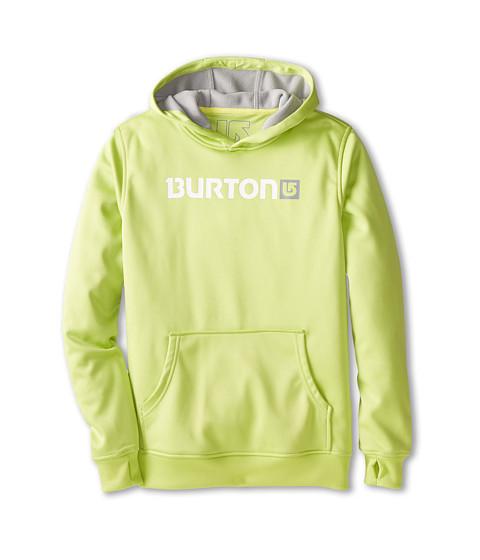Burton - Crown Bonded Pullover Hoodie (Little Kids/Big Kids) (Lime Green) Men