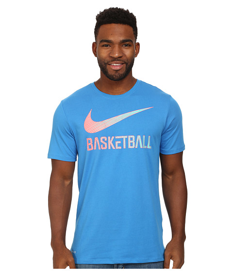 Nike - Basketball Speed (Light Photo Blue/Hot Lava/Light Photo Blue) Men