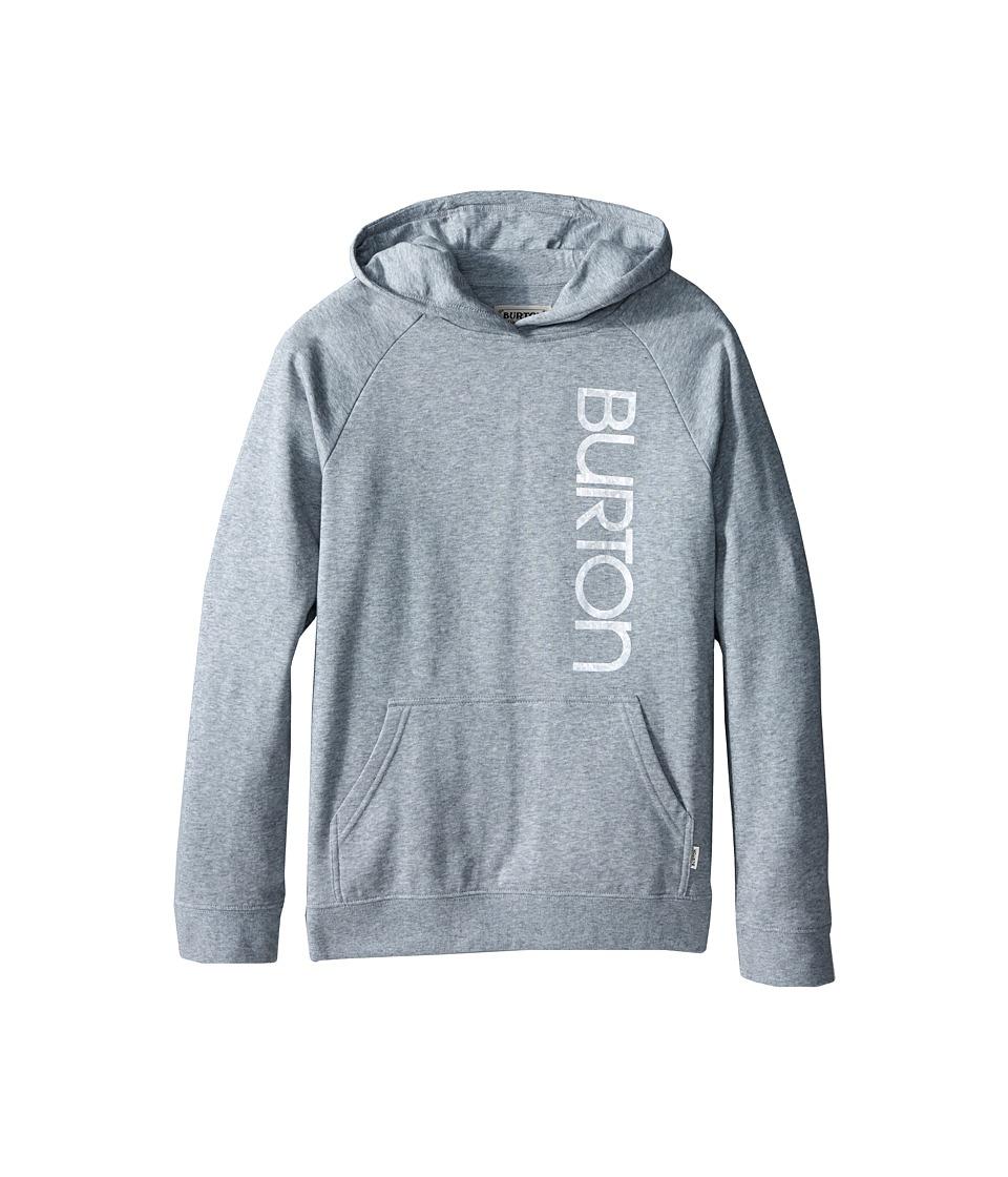 Burton Kids - Antidote Pullover Hoodie (Big Kids) (Grey Heather) Girl's Sweatshirt