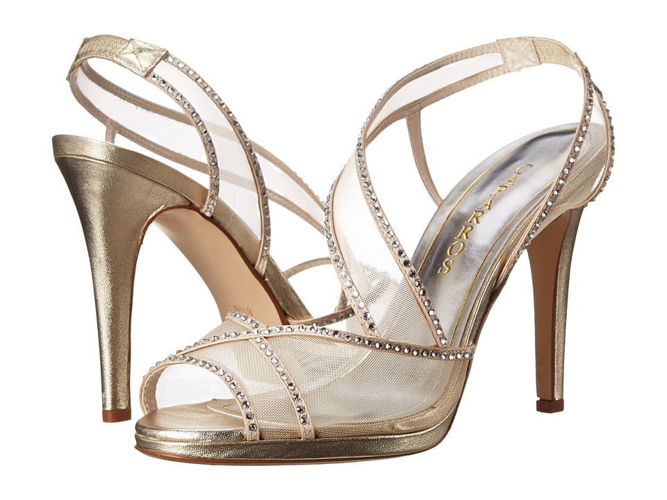 Caparros - Sunshine (Gold/With Stones) High Heels