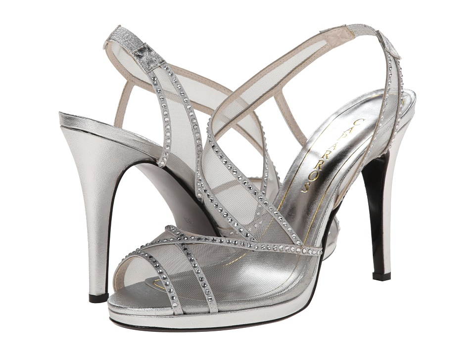 Caparros - Sunshine (Silver/With Stones) High Heels