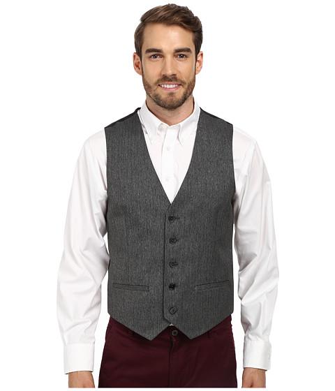 Calvin Klein - Jaspe Textured Vest (Granite) Men