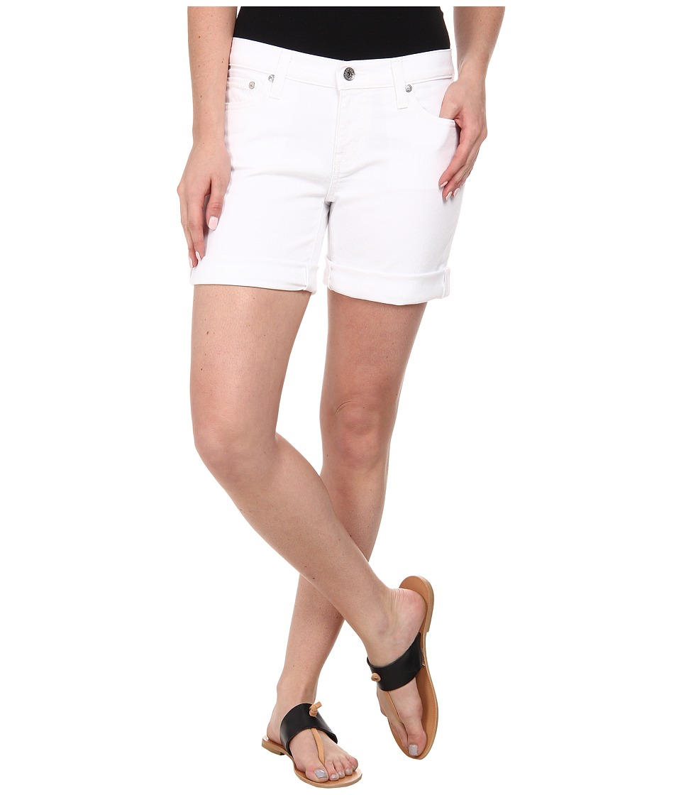 Big Star - Alex Short 5 in White (White) Women's Shorts