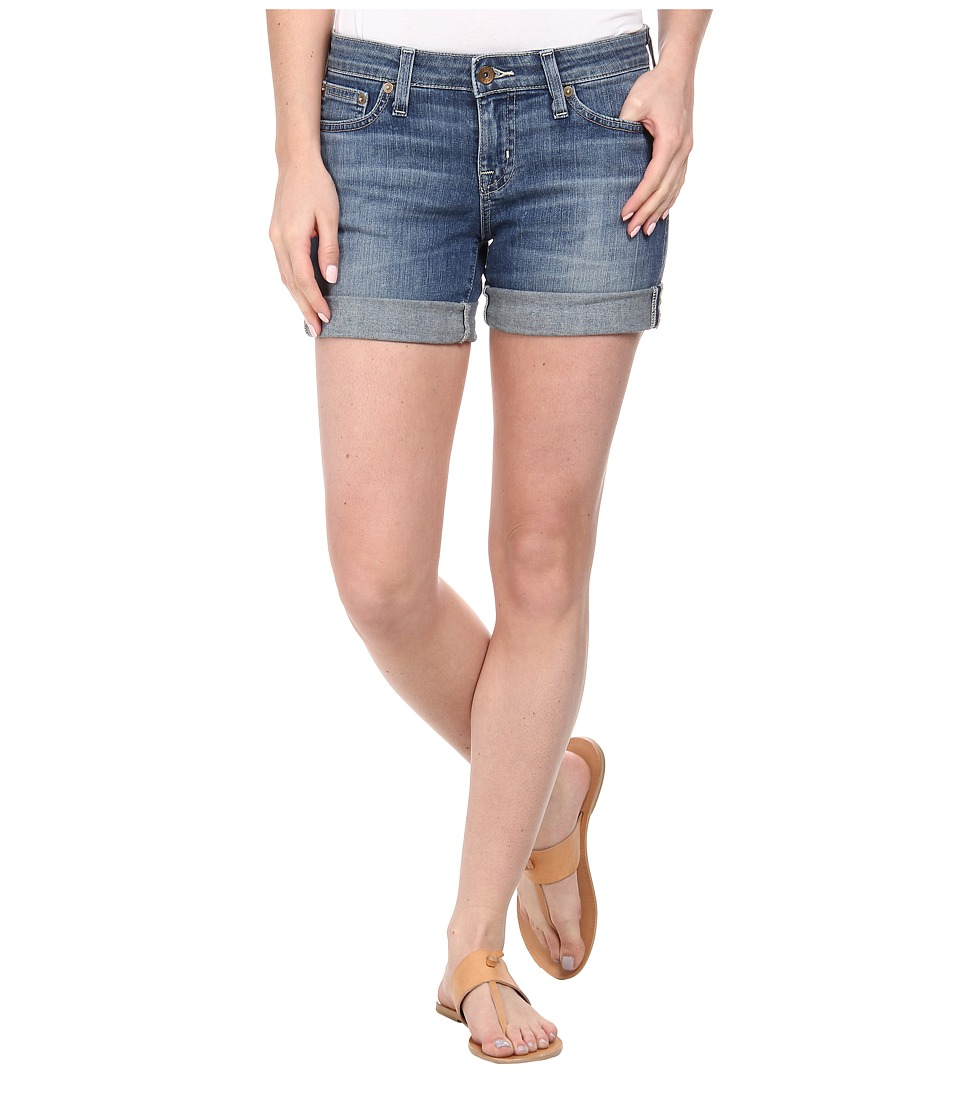 Big Star - Remy Mid Rise 4 Short in Altamar (Altamar) Women's Shorts