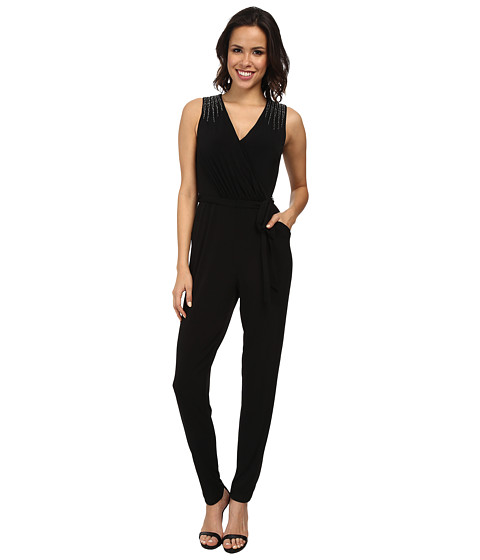 Calvin Klein - Embellished Jumpsuit CD4A1477 (Black) Women's Jumpsuit & Rompers One Piece