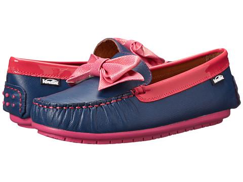 Venettini Kids - 55-Denise (Little Kid) (Demin Zafiano Fuxia Patent) Girls Shoes