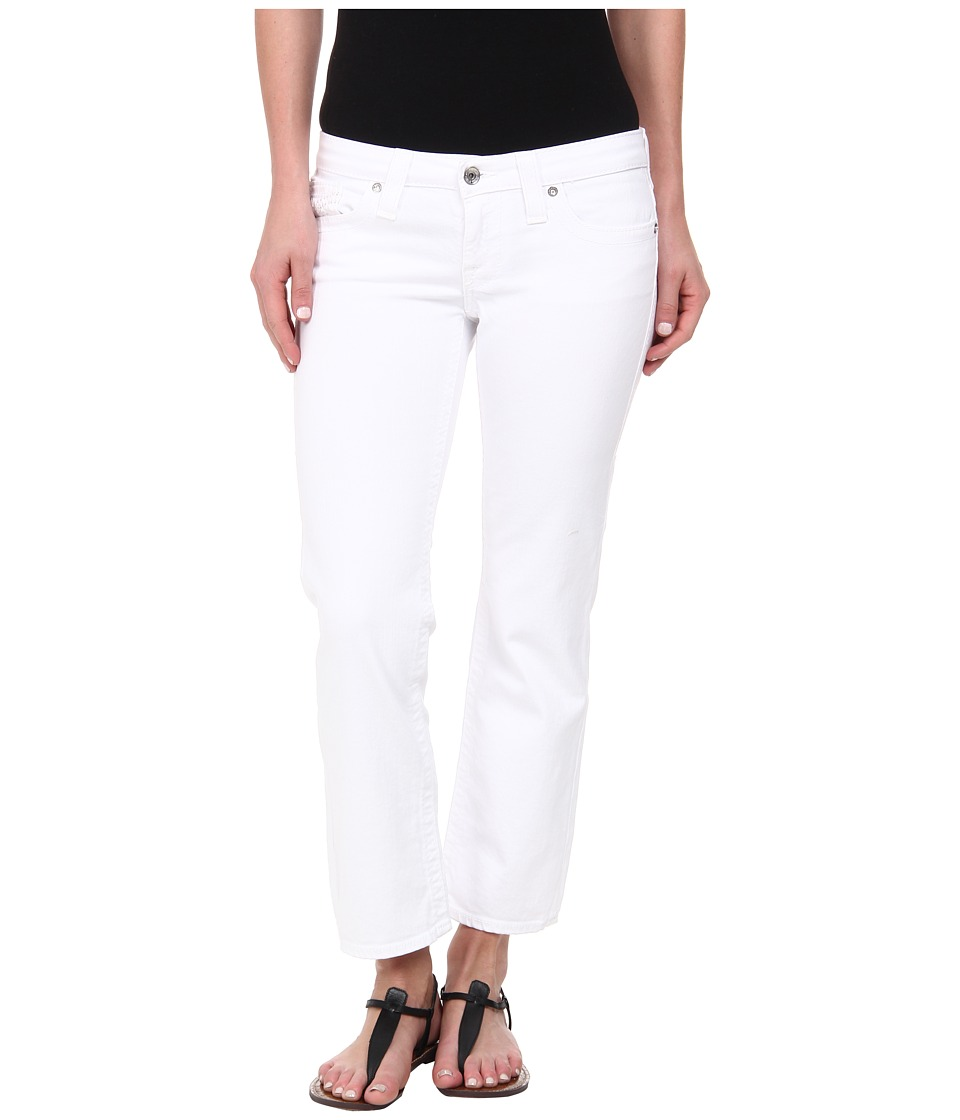Big Star Rikki Crop in Optic White (Optic White) Women's Jeans