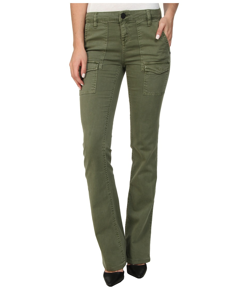 Sanctuary - Bootcut Courier (Army Green NO.5) Women's Clothing