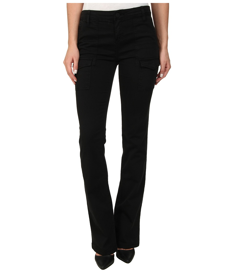 Sanctuary - Bootcut Courier (Black) Women's Clothing