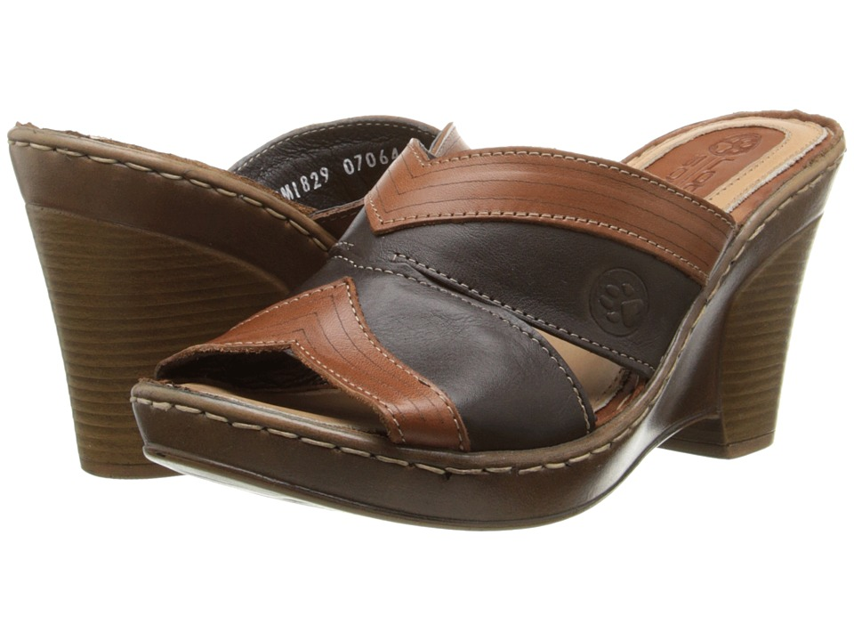 Lobo Solo - Rubi (Brown/Cognac Leather) Women