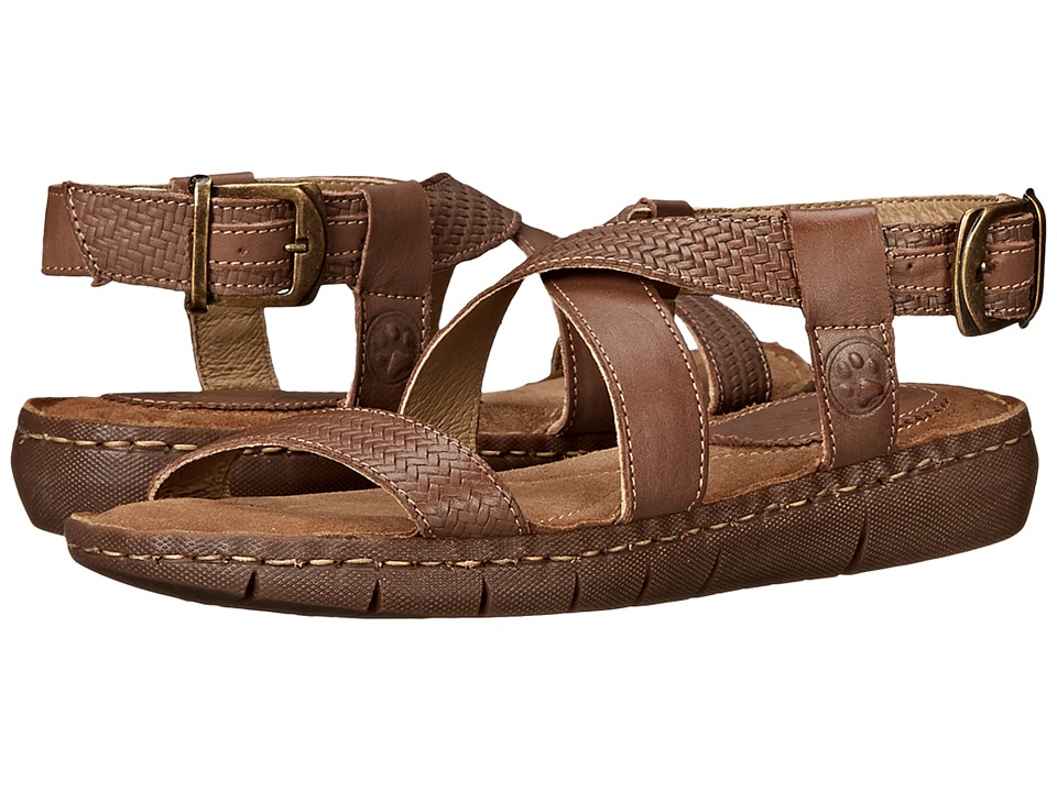 Lobo Solo - Petra (Taupe Leather) Women's Sandals