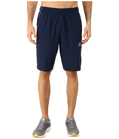 adidas - ClimaCore Elevated Woven Short (Collegiate Navy/Grey) Men