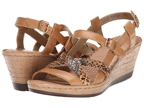 Lobo Solo - Melly Sling (Nude/Multi Leather) Women's Sandals