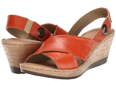 Lobo Solo - Cindy (Orange Leather) Women's Sandals