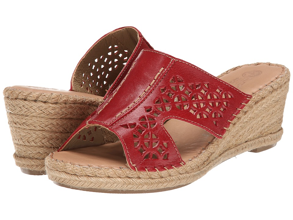 Lobo Solo - Serenity (Red Leather) Women